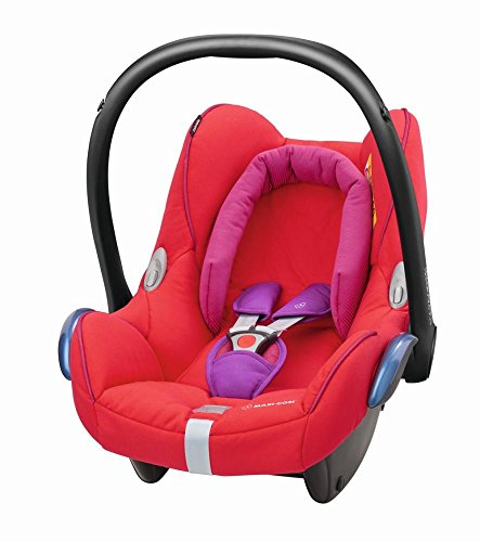 maxi cosi 8617333120 cabriofix babyschale gruppe 0 0 13 kg mit isofix rot kinderwageneldorado. Black Bedroom Furniture Sets. Home Design Ideas