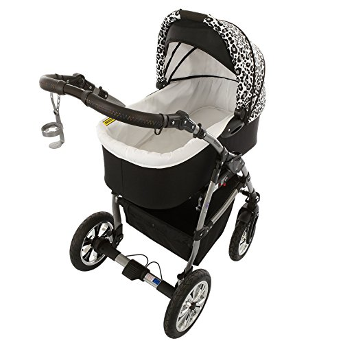 milk rock baby macano s kinderwagen mit 3 gestellfarben. Black Bedroom Furniture Sets. Home Design Ideas