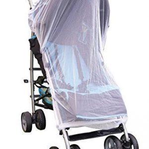 Moskitonetz für Kinderwagen Reisebett Jogger Buggys Mückennetz Insektenschutz