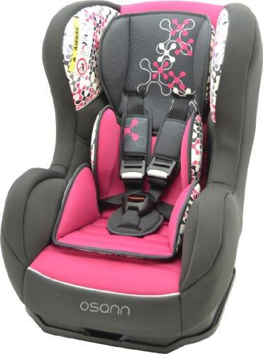 osann kinderautositz cosmo sp corail framboise pink rosa. Black Bedroom Furniture Sets. Home Design Ideas