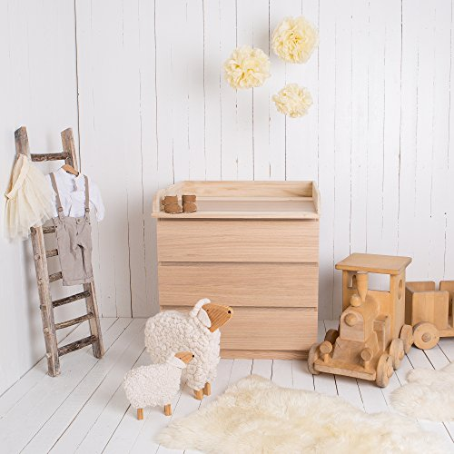 Puckdaddy Naturholz Wickelaufsatz Fur Alle Ikea Malm Kommoden