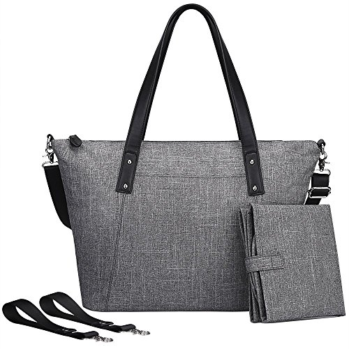 s zone baby windel gro e tasche handtasche anti wasser mit wickelauflage und stroller riemen. Black Bedroom Furniture Sets. Home Design Ideas