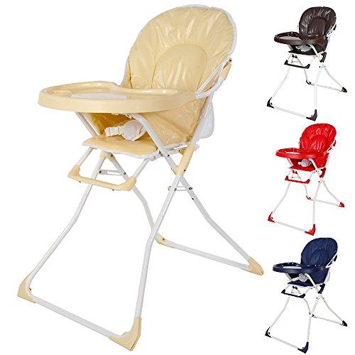 tectake kinderhochstuhl babyhochstuhl klappbar diverse farben kinderwageneldorado. Black Bedroom Furniture Sets. Home Design Ideas