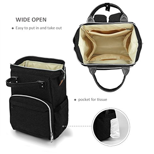 Wickeltasche Rucksack Lässig Babytasche Wickeltasche Groß