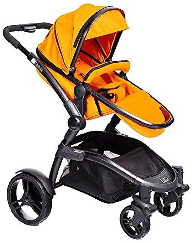 libelulle kinderwagen z b farbe mandarina orange 6. Black Bedroom Furniture Sets. Home Design Ideas