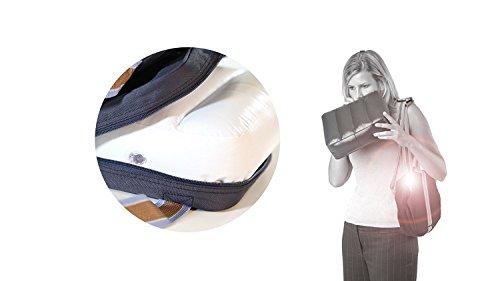 roba boostersitz in blau mobiler aufblasbarer kindersitz als sitzerhhung und reisesitz ideal als. Black Bedroom Furniture Sets. Home Design Ideas