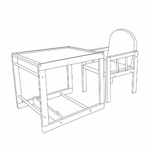 roba kombi hochstuhl kinderhochstuhl mit essbrett. Black Bedroom Furniture Sets. Home Design Ideas