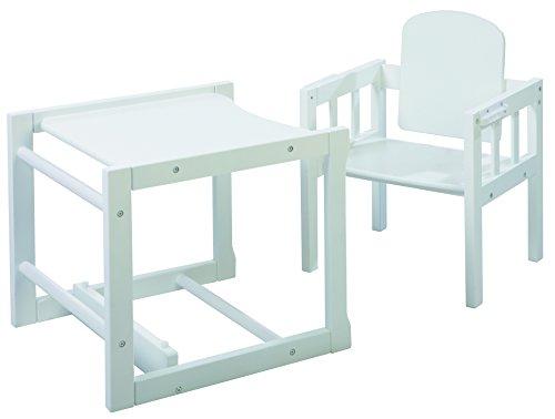 roba kombi hochstuhl kinderhochstuhl mit verstellbarem essbrett wandelbar zu tisch stuhl. Black Bedroom Furniture Sets. Home Design Ideas