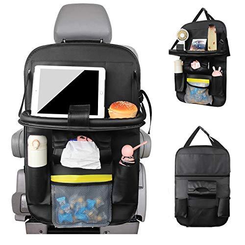 DE Auto-Rücksitz-Organizer Kinder Rückenlehnentasche Rückenlehnenschutz NEU